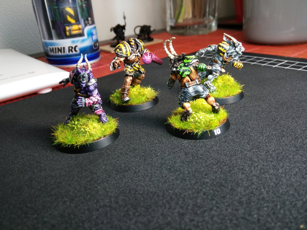 The DINKY TOYS / Chaos Chosen BloodBowl Team Img_2285