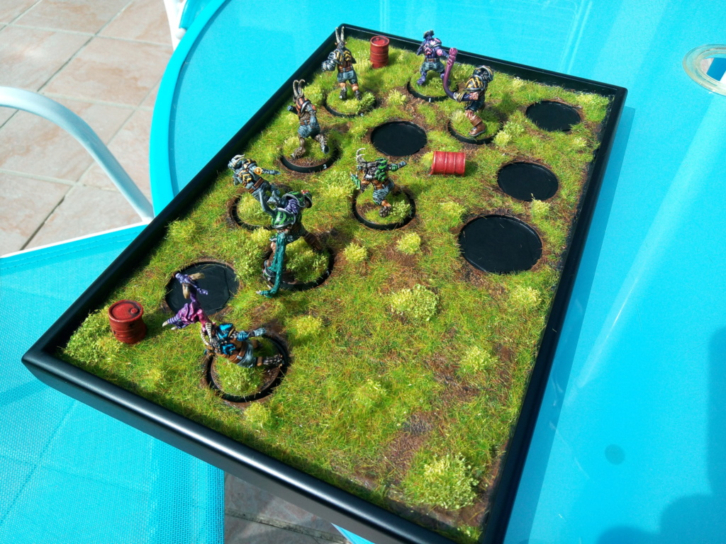 The DINKY TOYS / Chaos Chosen BloodBowl Team Img_2331