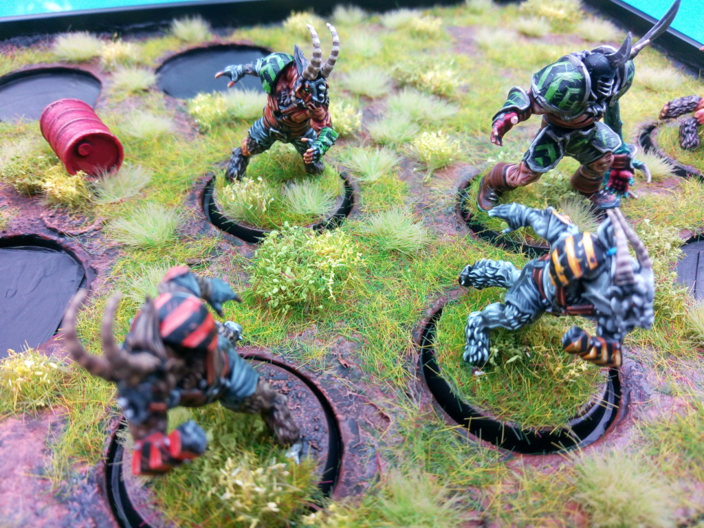 The DINKY TOYS / Chaos Chosen BloodBowl Team Img_2336