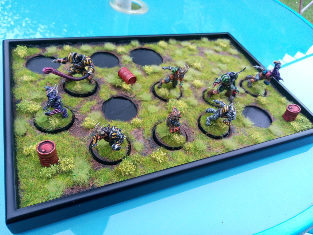 The DINKY TOYS / Chaos Chosen BloodBowl Team Img_2338