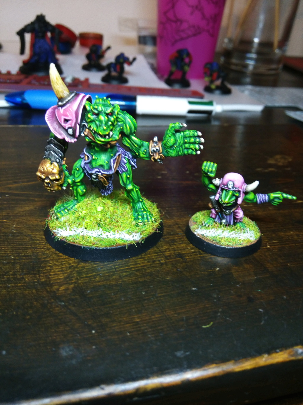 The Olive Bombs / Gobs Bloodbowl Team Troll_10