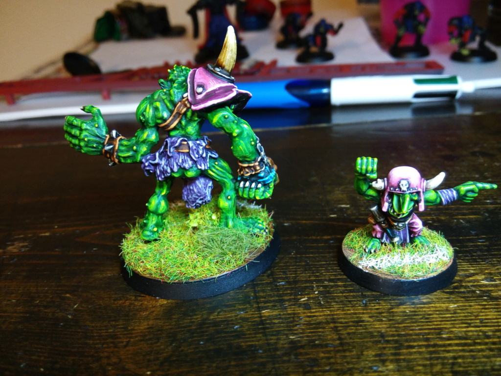 The Olive Bombs / Gobs Bloodbowl Team Troll_11