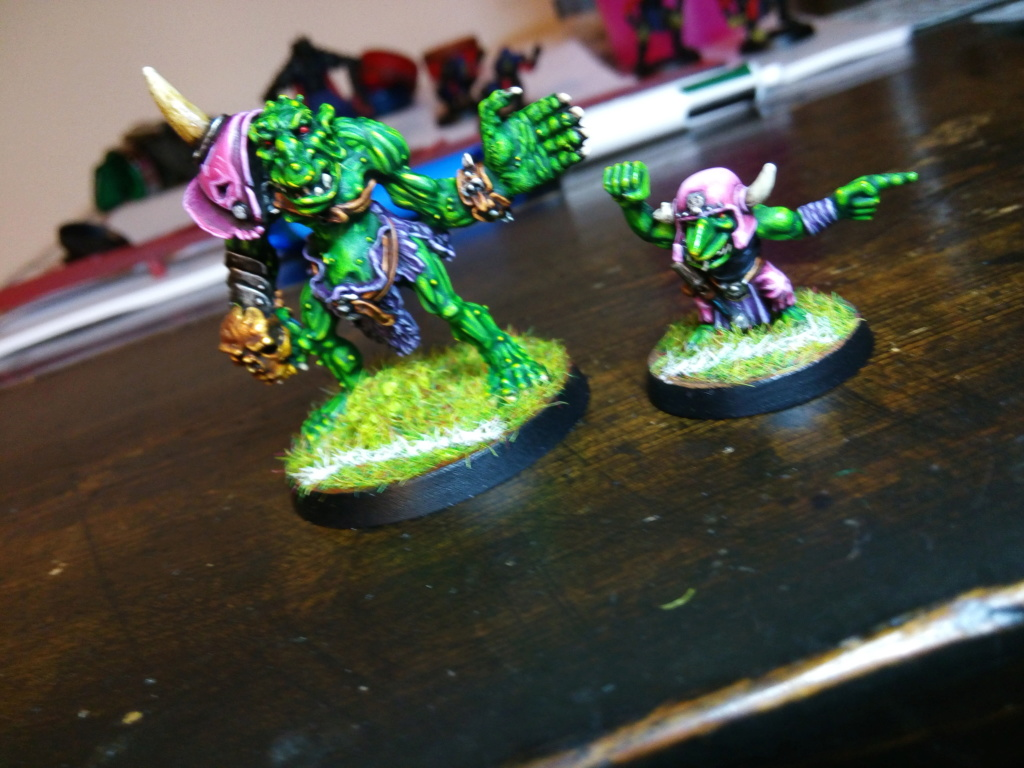 The Olive Bombs / Gobs Bloodbowl Team Troll_12
