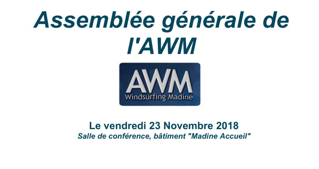 Assemblée Générale AWM 2018 Ag201810