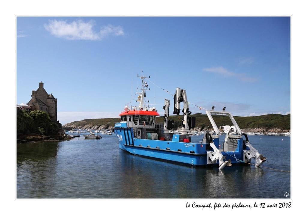 [VIE DES PORTS] Quelques bateaux de pêche (sur nos côtes Françaises) 20180811
