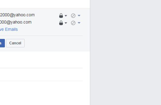 Facebook allows everyone to see your phone number Email_10