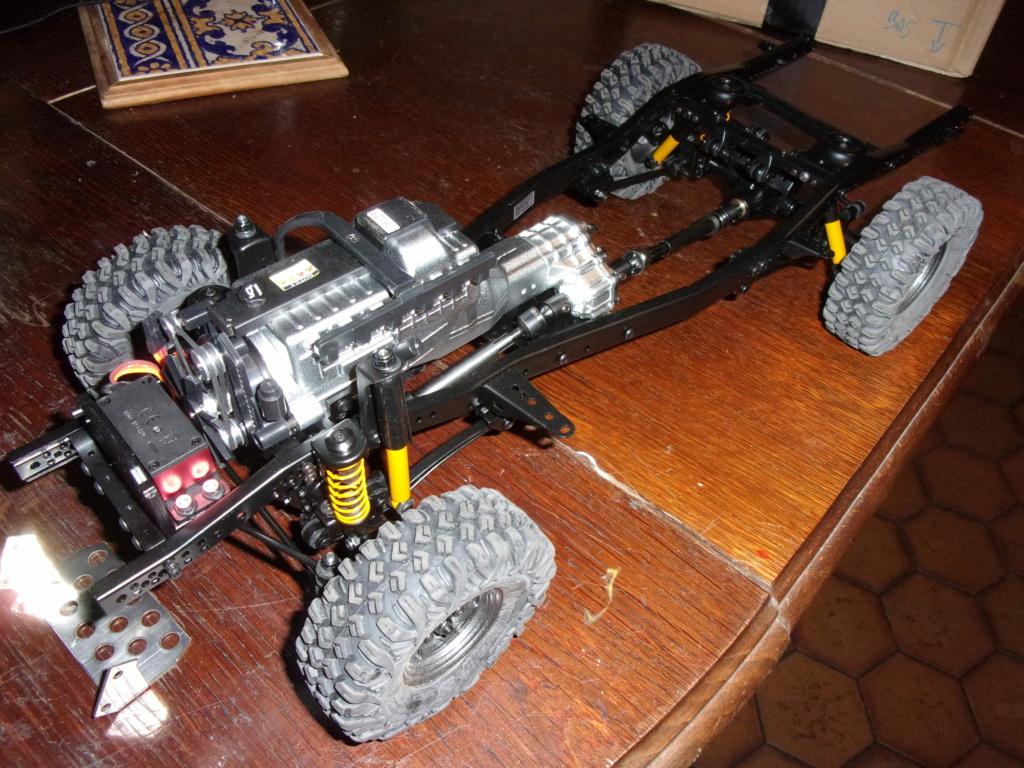 Nouveauté Chassis RC RUN 1:10 LC80 Kit 100_0052