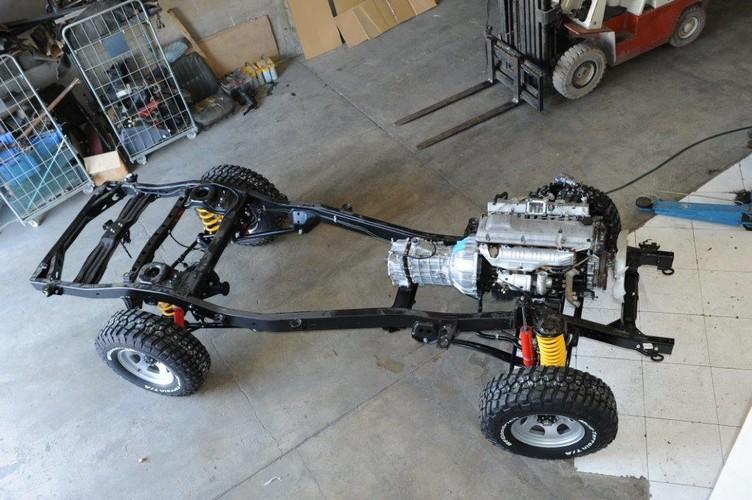 Nouveauté Chassis RC RUN 1:10 LC80 Kit 30-710