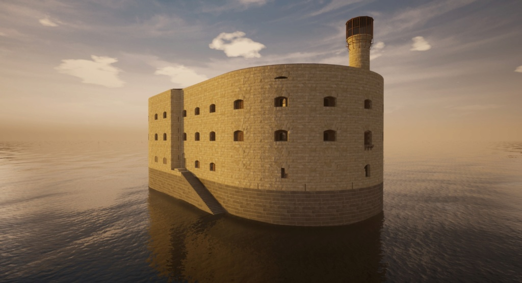 "Reproduction 3D de Fort Boyard par ""Amateur Three D"" - Page 5 Highre10"