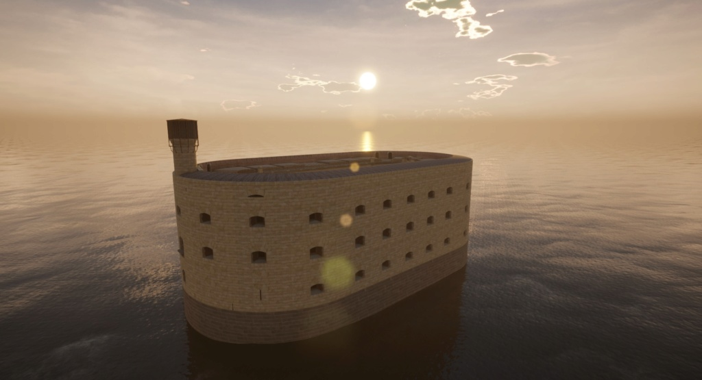 "Reproduction 3D de Fort Boyard par ""Amateur Three D"" - Page 5 Highre11"
