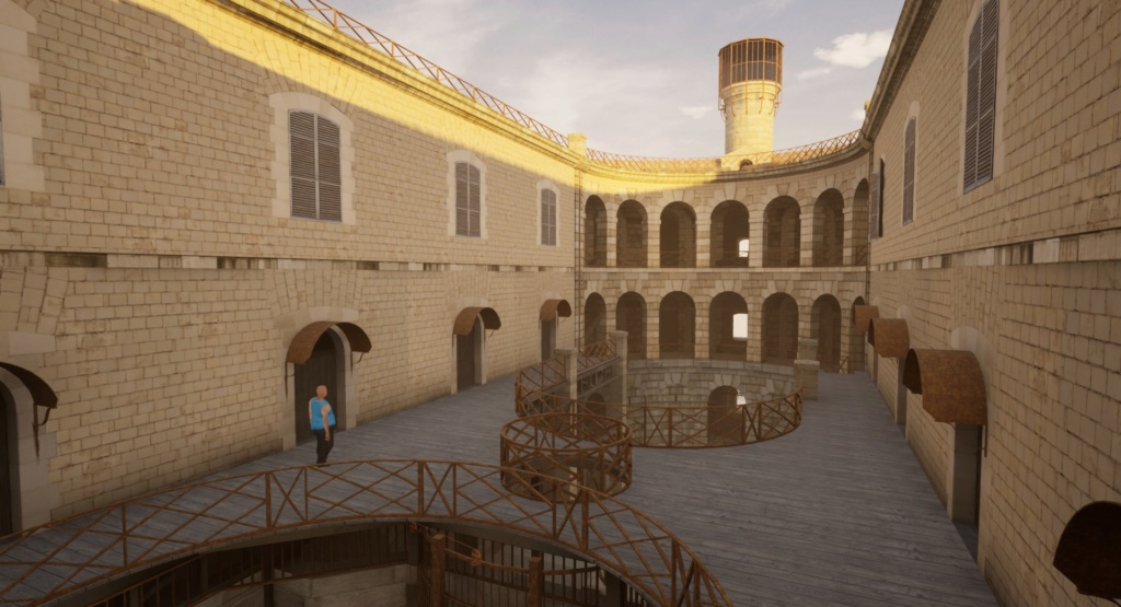 "Reproduction 3D de Fort Boyard par ""Amateur Three D"" - Page 5 Highre12"