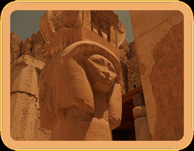 Дейр-эль-Бахри. Храм царицы Хатшепсут. Ia_iai14