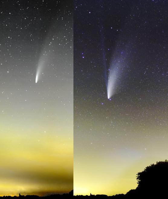 Comète Neowise C/2020 F3 Compar20