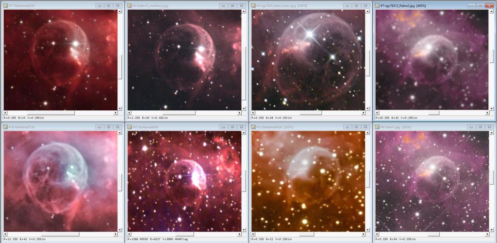 Nébuleuse de la Bulle NGC7635 Compar26