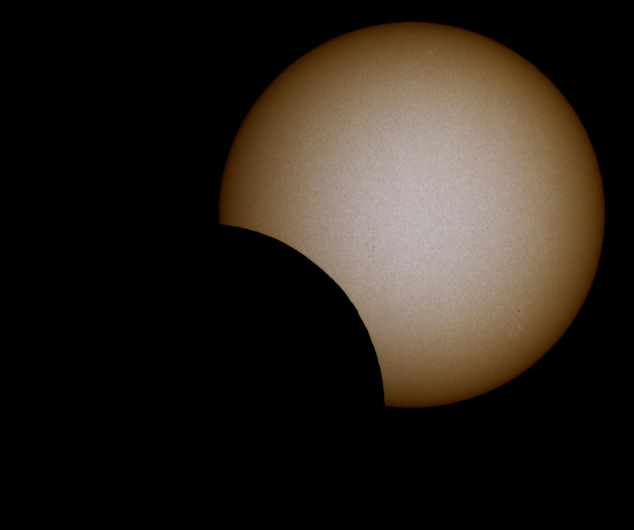 Eclipse partielle du Soleil de ce 10 juin 2021. Eclips13