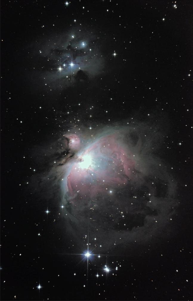 M42 et M45, Orion nous fait le tour d' m42 ?  M42_lu10