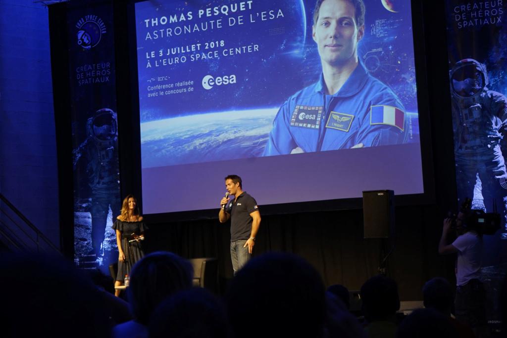 Thomas Pesquet à l'ESC!! Pesque12