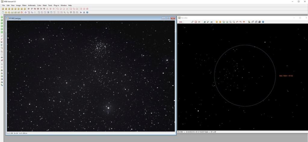 Astroart 6.0, catalogues et astrométrie... Starat10