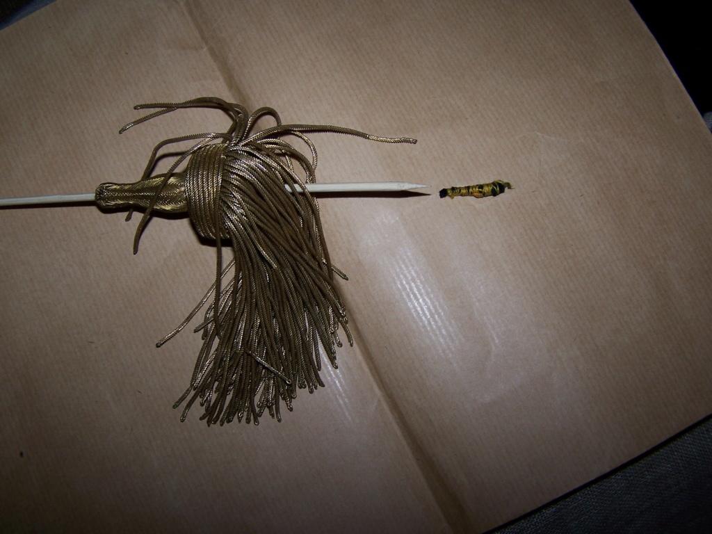 Dragonnes sabre officier (identification et réparation) 511