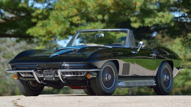 "Mecum Kissimmee 2020 : Corvette ""big tank"" 63  Corvet10"