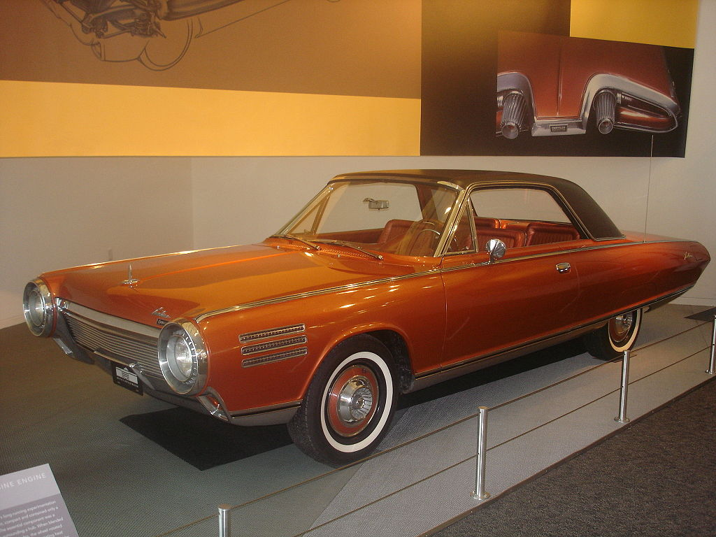 1956 Chrysler turbine car  Turbin10