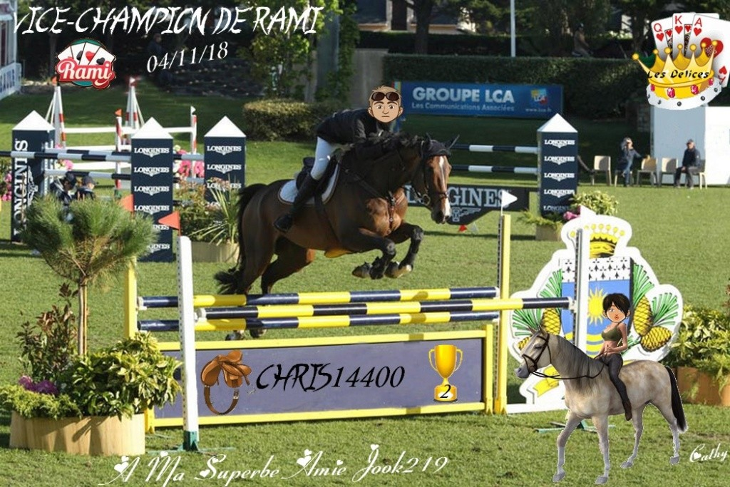TOURNOI DE RAMI DU 4 NOVEMBRE 2018 Chris112