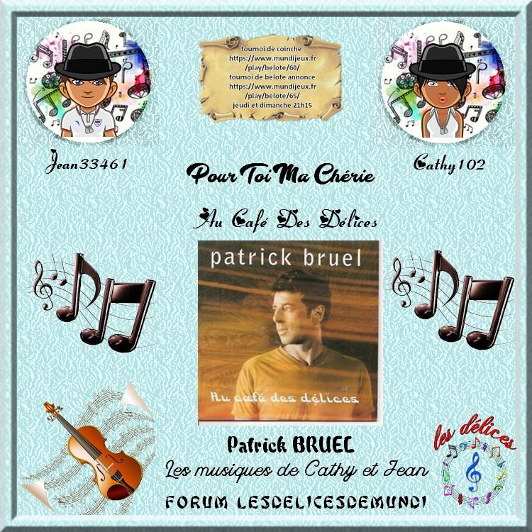 AUX CAFE DES DELICES - PATRICK BRUEL Dedica10