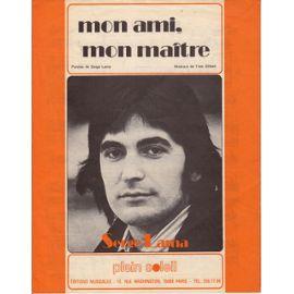MON AMI MON MAITRE - SERGE LAMA Mon-am10