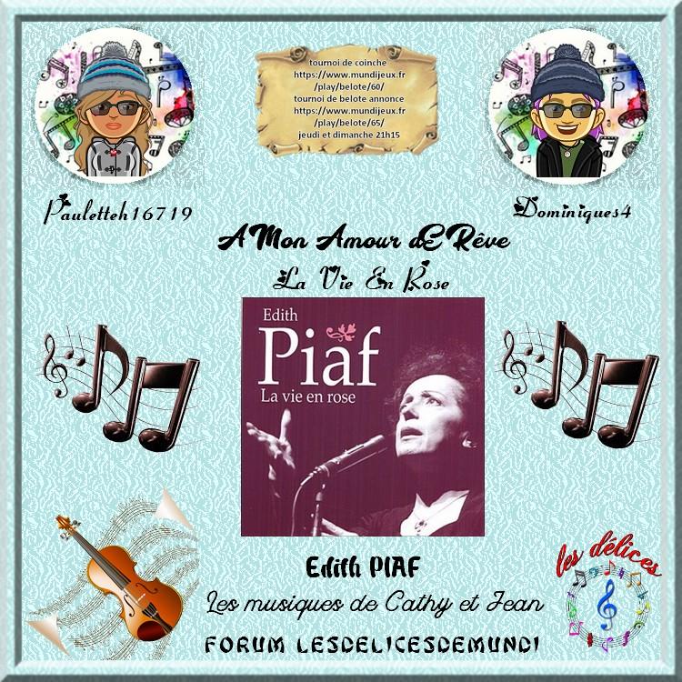 LA VIE EN ROSE - EDITH PIAF  Paulet11