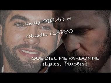 QUE DIEU ME PARDONNE - KENDJI GIRAC FT. CLAUDIO CAPEO Que_di10