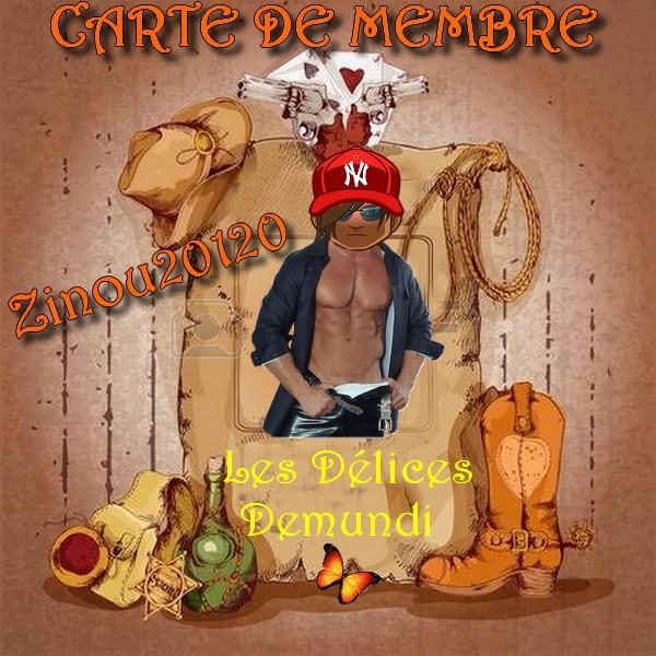 JE CHOISIS MA CARTE MEMBRE Zinou211