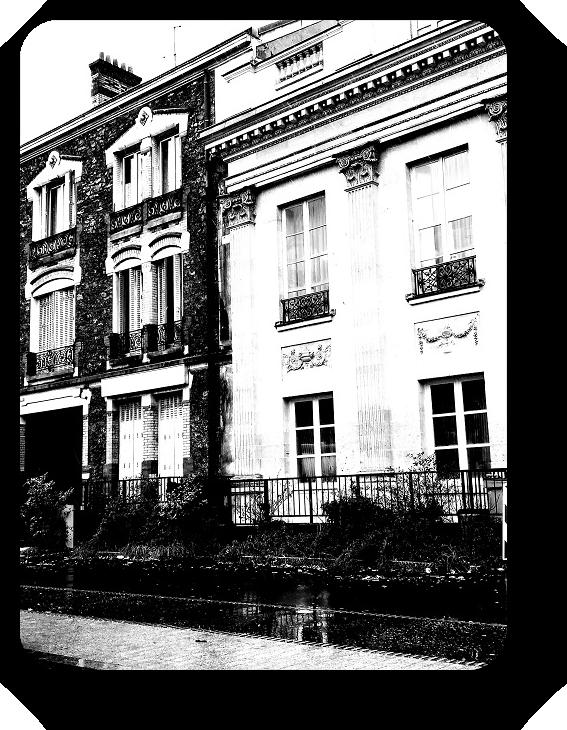 Очарование Франции в черно-белом облачении 11_1114