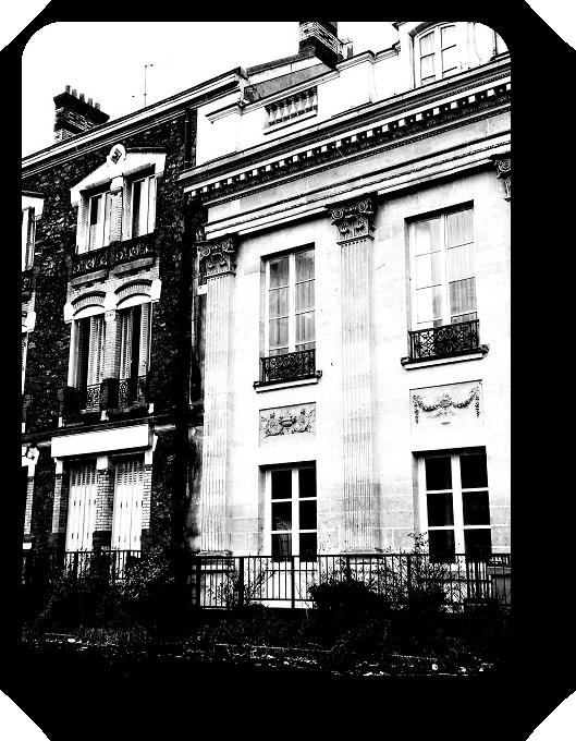 Очарование Франции в черно-белом облачении 14_1414