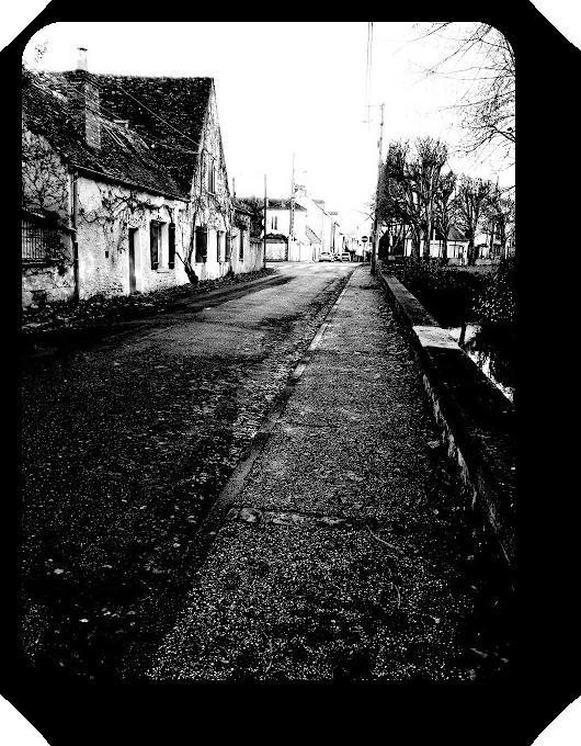 Очарование Франции в черно-белом облачении 36_3613
