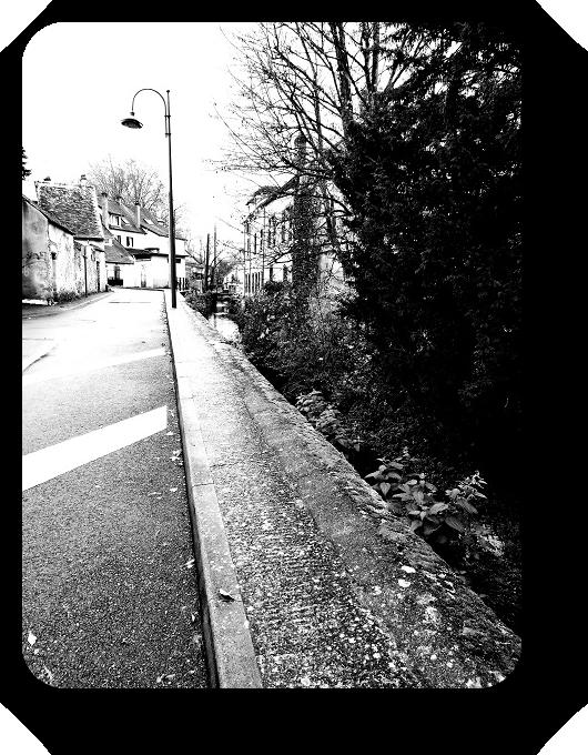 Очарование Франции в черно-белом облачении 39_3913