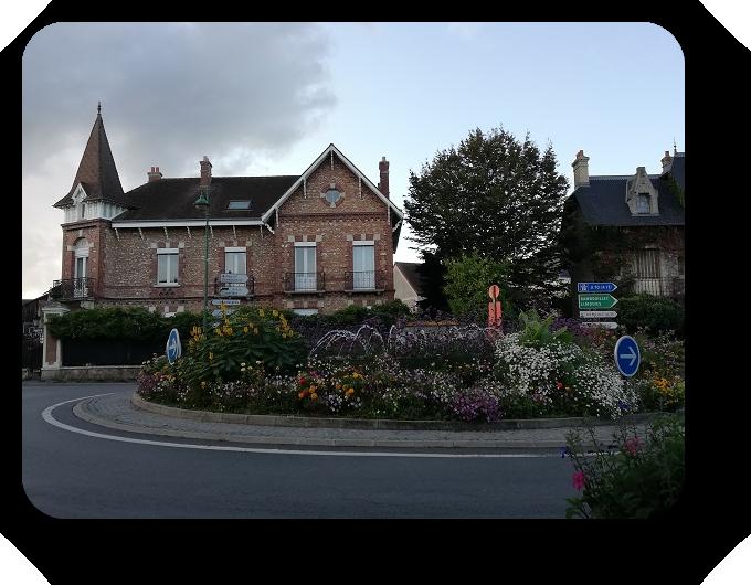 Парки и цветочные композиции французских городов 3_317