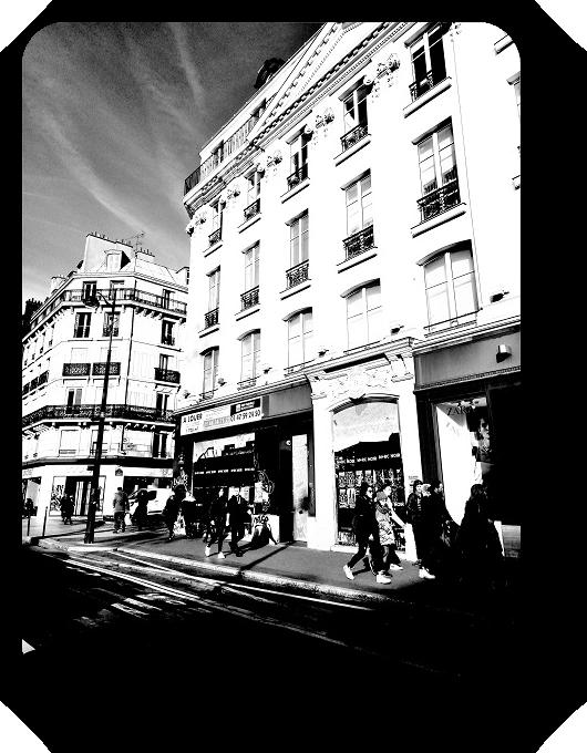 Очарование Франции в черно-белом облачении 47_4714