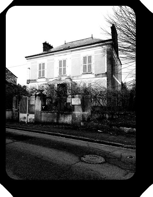 Очарование Франции в черно-белом облачении 54_5413