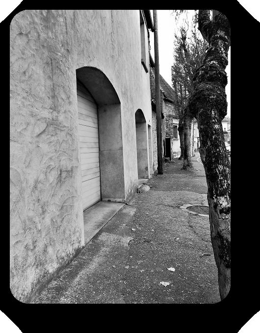 Очарование Франции в черно-белом облачении 59_5913