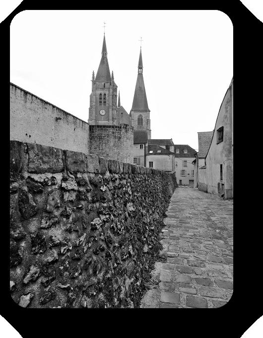 Очарование Франции в черно-белом облачении 61_6113