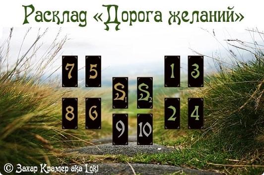 """Расклад """"Дорога желаний"""" 65904310"""