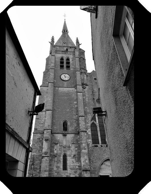 Очарование Франции в черно-белом облачении 69_6913