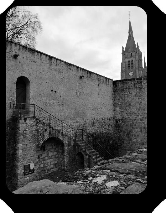 Очарование Франции в черно-белом облачении 70_7013