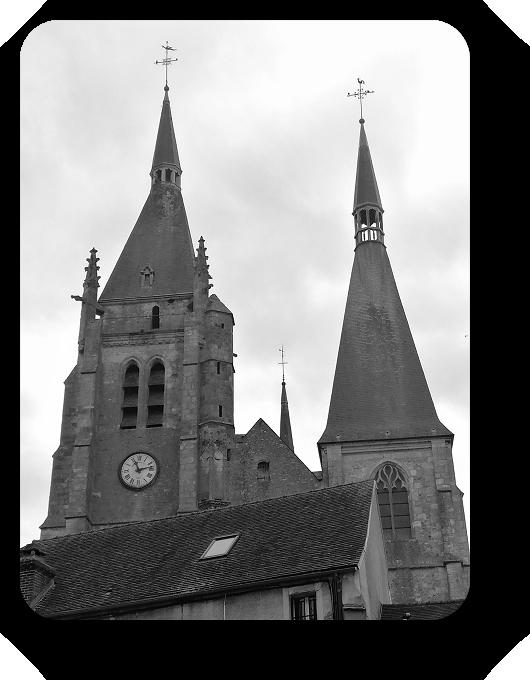 Очарование Франции в черно-белом облачении 71_7113