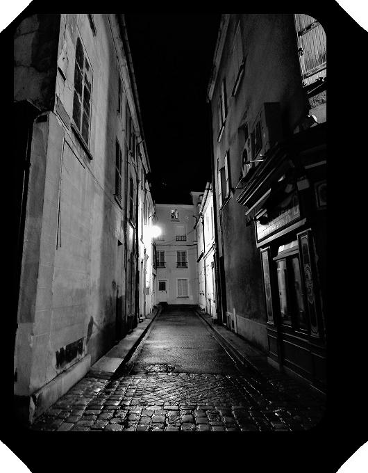 Очарование Франции в черно-белом облачении 9_915