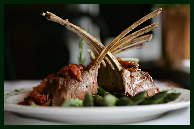 Запеченное мясо ягненка. Блюдо Остары Photoe11