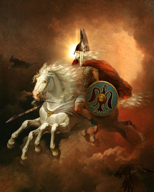 Один - бог вдохновения, магии и безумия битвы Viking10