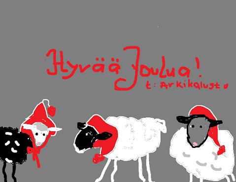 ♥  JOULUN JA UUDEN VUODEN SIUNAUSTA KAIKILLE  ♥ Arkika10