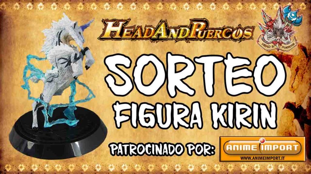 Sorteo Especial lanzamiento Monster Hunter Generations Ultimate - Figura Modelo Kirin Sorteo11