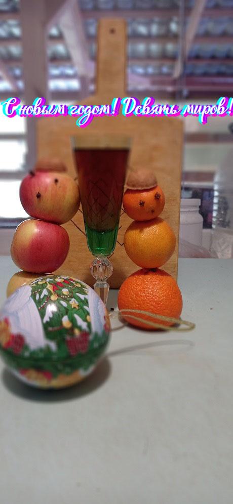 "Конкурс ""Новогодний переполох"" перед днем рождения. Тур 4. Новогодний бокал.  16100010"